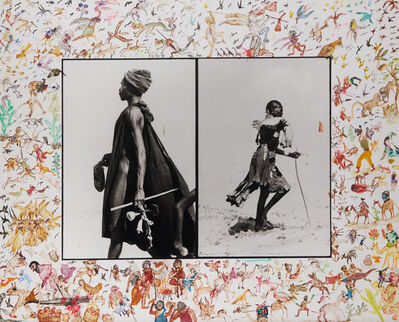 Peter Beard, 'The Warriors', 1965
