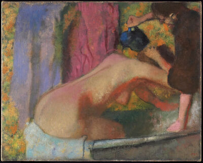 Edgar Degas, 'Woman at Her Bath', ca. 1895