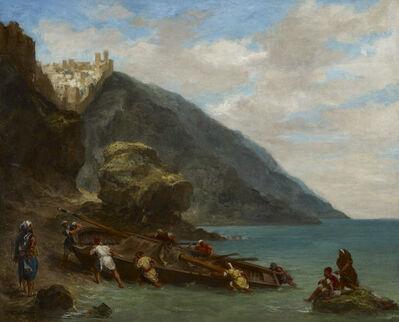 Eugène Delacroix, 'Tangier from the Shore', 1858