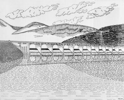 Jeff Helmuth, 'Ashokan Dividing Weir Bridge', 2014
