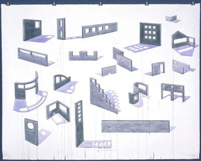 Los Carpinteros, 'El Muro #18', 2001