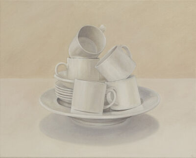 Elizabeth Johansson, 'Balanced Cups on Plate', 2012