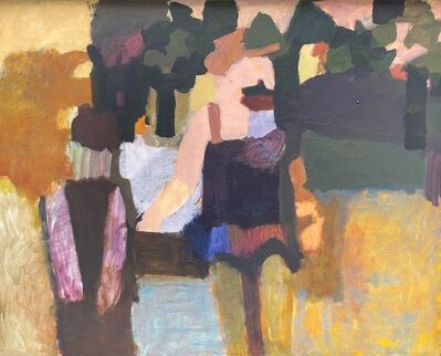 Howard Hodgkin, 'In the Luxembourg Gardens', 1957