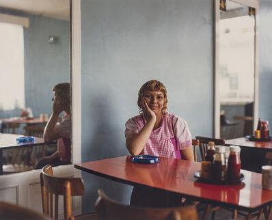 Paul Graham, 'Café Waitress, John's Café, Sandy Bedfordshire, May', 1982