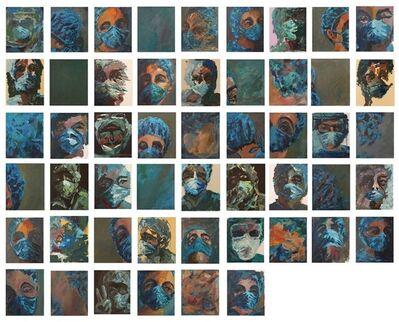 "Iman Toufaily, '""Corona"" - 51 artworks', 2020"