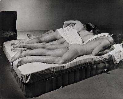 George Platt Lynes, 'Nudes and Mattress', 1941