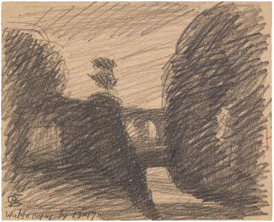 Oscar Bluemner, 'WATSESSING', 1917