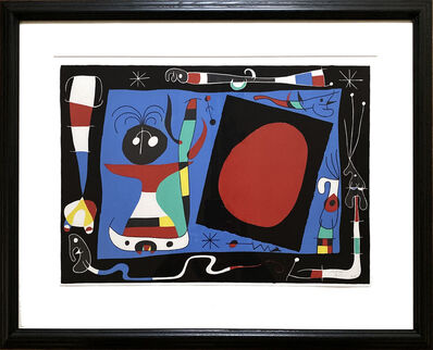 Joan Miró, 'La Femme Au Miroir', 1956
