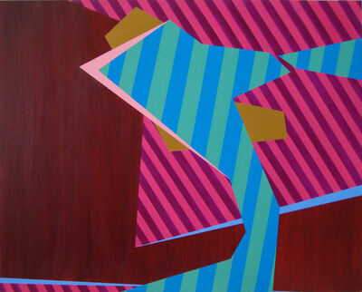 Laura Mosquera, 'Cut Stripe Spin', 2014