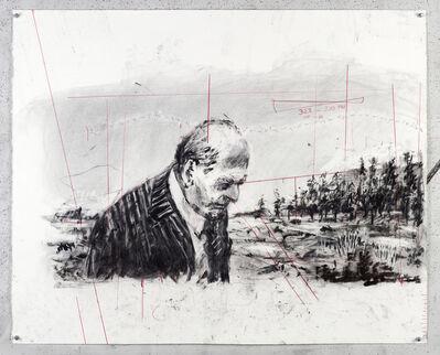 William Kentridge, 'Drawing for City Deep (Soho with Head Bowed)', 2018