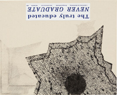 Nate Lowman, 'Never Graduate', 2005
