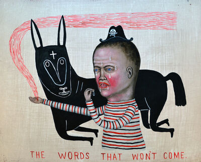 Fred Stonehouse, 'The Words That Won't Come', 2017