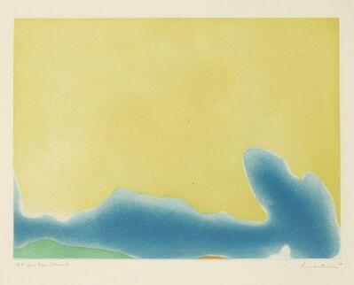 Helen Frankenthaler, 'Yellow Span (Harrison 13)', 1968