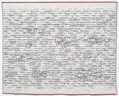 Solveig Aalberg, 'Energy lines – red', 2012