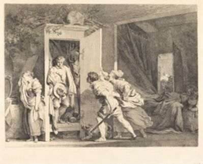 Jean-Honoré Fragonard, 'The Cupboard (L'armoire)', 1778