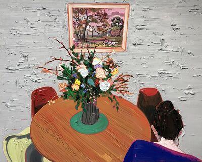 Kim Dorland, 'Kitchen Table', 2017