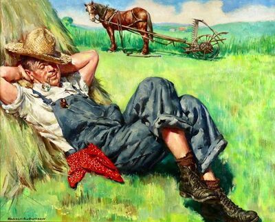 Harold Anderson, 'Midday Rest', Early 20th Century