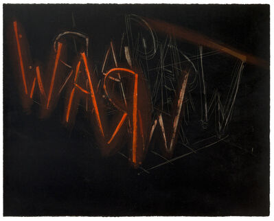 Bruce Nauman, 'Raw War', 1971