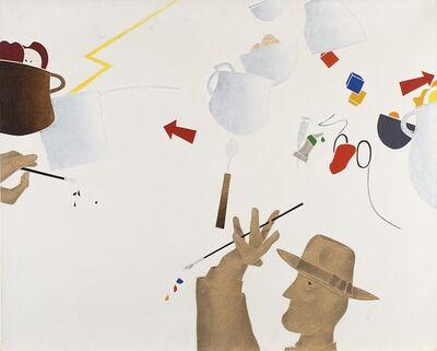 Emilio Tadini, 'Le figure - Le cose', 1980