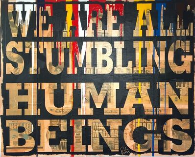 "Peter Tunney, '""Stumbling Humans""', ca. 2010"