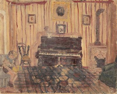 Titina Maselli, 'Pianoforte con ragazzo (Citto)', Pescolanciano 1936