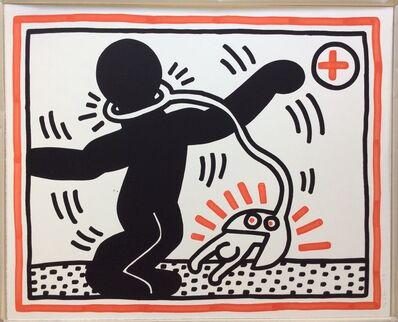 Keith Haring, 'Untitled 2 (Apartheid suite)', 1985