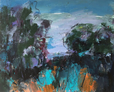 Deborah Lanyon, 'Richmond Park II', 2020