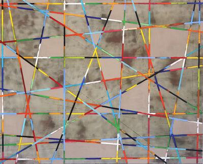 Petra Rös-Nickel, 'Diagonal Grey', 2019