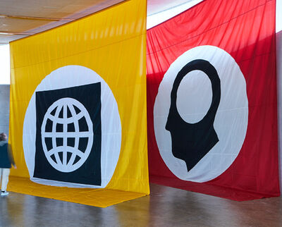 Matt Mullican, 'Untitled (10 Banners, Nationalgalerie Berlin)', 2006