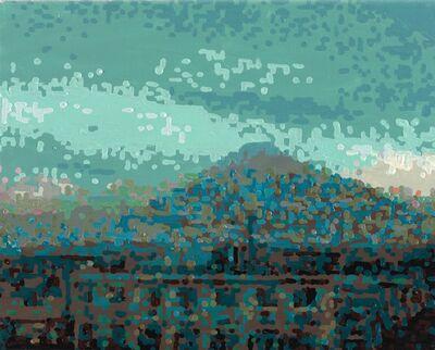 RÖMER + RÖMER, '50 Ansichten Des Berges Fuji_Vom Zug Aus Betrachtet Nr. 18', 2010