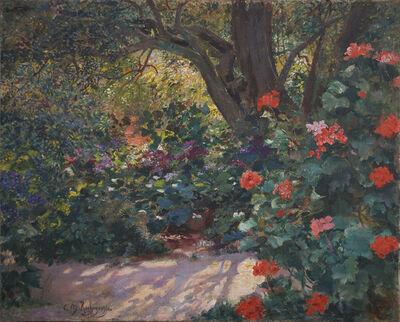 Georges Antoine Rochegrosse, 'Géraniums au jardin', 19th Century