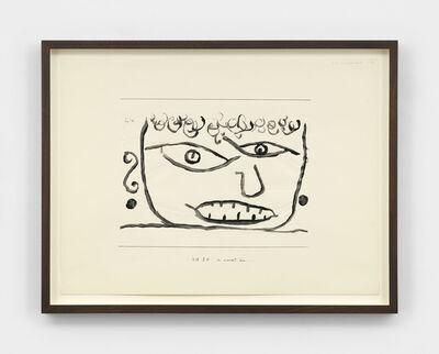 Paul Klee, 'es wurmt ihn (It Annoys Him)', 1938