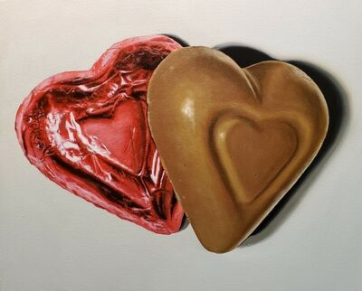 A.J. Fries, 'Chocolate Hearts', 2020