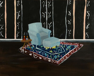 Polly Shindler, 'Blue Chair in Parlor', 2018