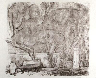 Hans Purrmann, 'Garten in Levanto', 1964