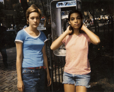 Larry Clark, 'Chloe and Rosario', 2010