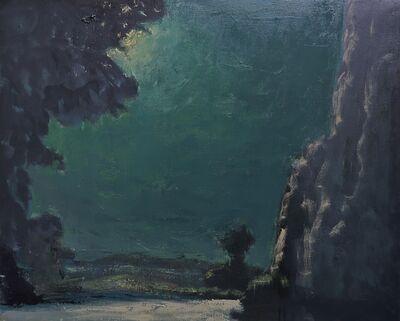 Albert Hadjiganev, 'Promenade nocturne',
