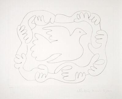 Pablo Picasso, 'Etudes de Mains et Colombe, 1952', 1979-1982