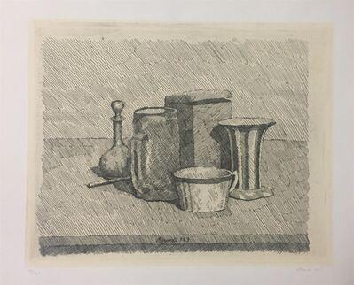 Giorgio Morandi, 'Natura morta con tazzina e caraffa', 1929