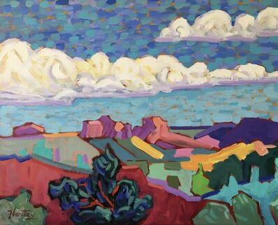 """Claudia Hartley, '""""Rolling Clouds""""', 2019"""