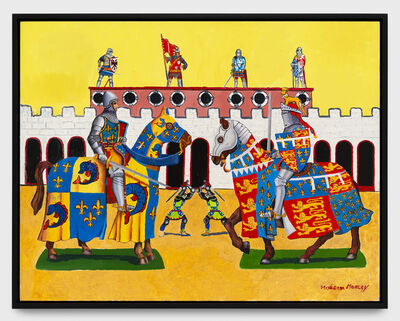 Malcolm Morley, 'School for Jousting', 2016