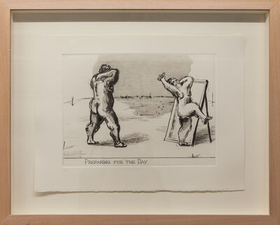 "William Kentridge, 'Early Prints - ""Little Morals""', 1991"