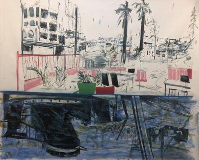 Rob Visje, 'Reflexion harbour', 2019