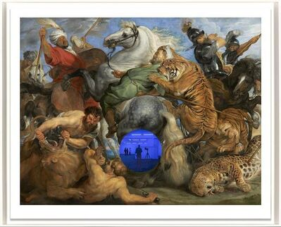 Jeff Koons, 'Gazing Ball (Rubens Tiger Hunt)', 2018