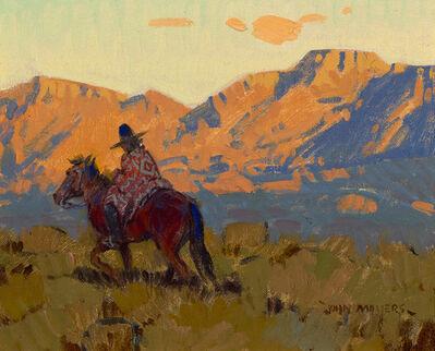 """John Moyers, '""""Navajo Rider""""', 2019"""