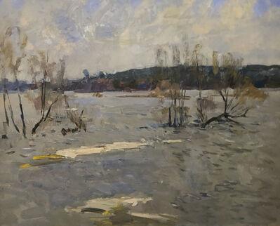 Fedor Zakharov, 'Last ice on River', 1974