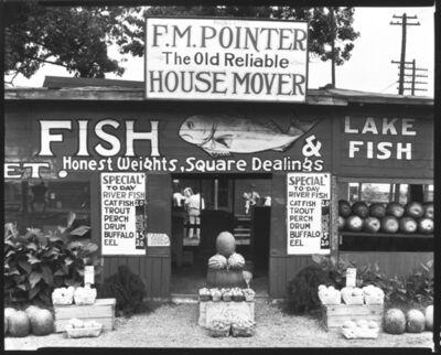 Walker Evans, 'Fish Market Near Birmingham, Ala.', 1936