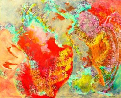 Evelyne Ballestra, 'Comme deux oiseaux d'or', 2007