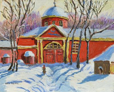 Katia Pissarro, 'La Maison Rouge sous la Neige', ca. c. 1990s