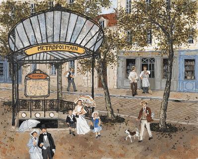 Fabienne Delacroix, 'Métro Abbesses', 2020